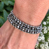 Sparkling Silver Date Night Wrap