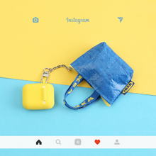Load image into Gallery viewer, HipCity IKEA Airpod w/ Keychain Case