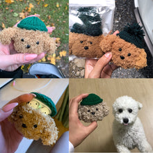 Load image into Gallery viewer, HipCity Curly Puppy Airpod Case