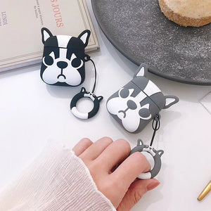 HipCity Frenchie Airpod Case