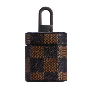 HipCity Leather Checker Airpod Case