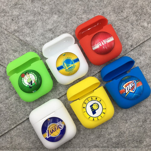 HipCity Basketball Team Logo Airpod Cover