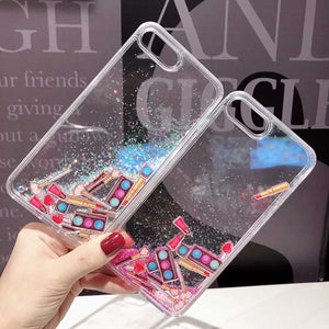 HipCity MakeupLover Floating Glitter Case