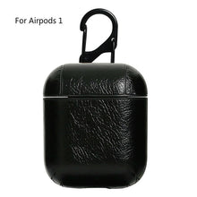 Load image into Gallery viewer, HipCity Leather Airpod Case with Keyring