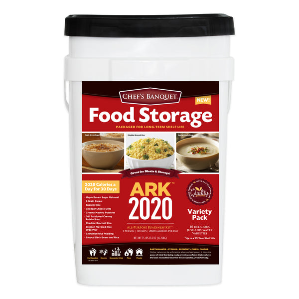 ARK 2020 1 Month (30-Day) Emergency Food Storage Kit