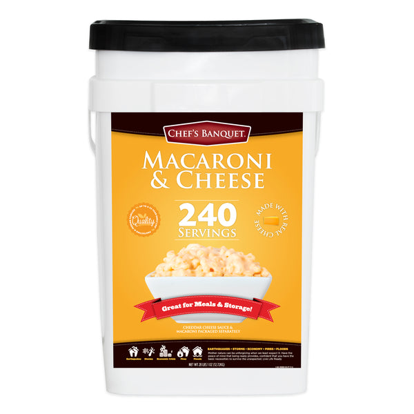 Chef's Banquet Macaroni and Cheese Kit (240 Servings)