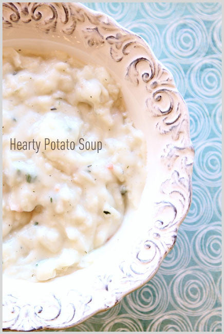 Hearty Potato Soup Food Storage