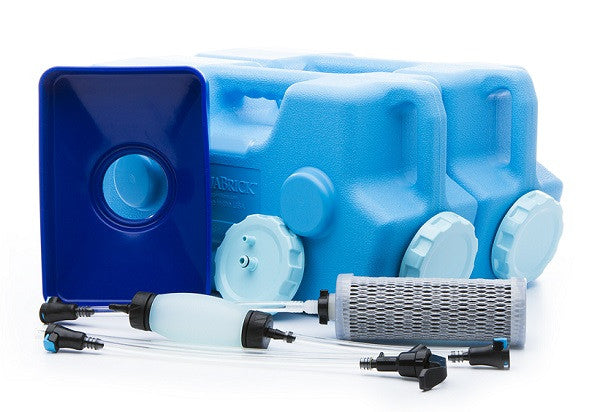 sagan water filtration system complete kit with aquabricks 550 gallons