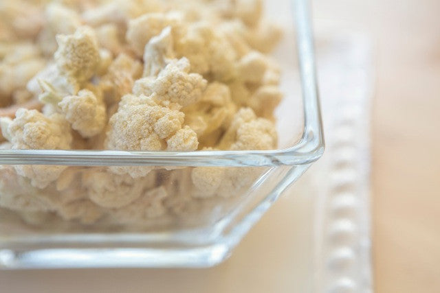 Chef's Banquet Freeze Dried Cauliflower Food Storage