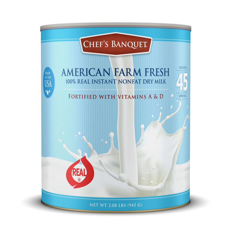 American Farm Fresh Fortified Instant Nonfat Dry Milk