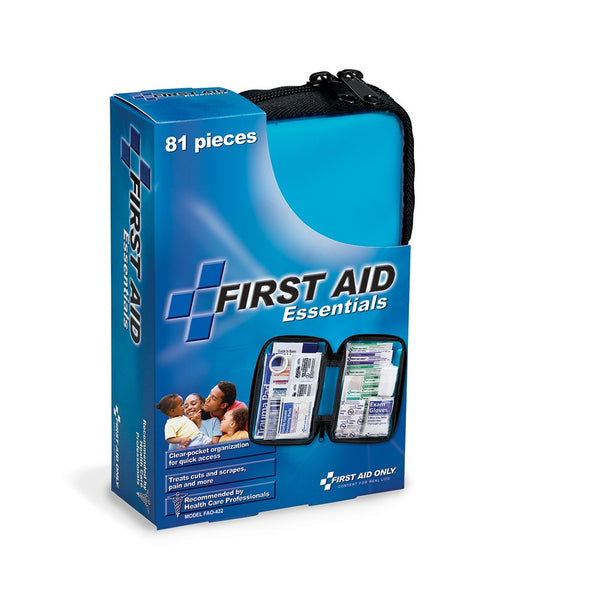 80 Piece First Aid Kit, Fabric Case