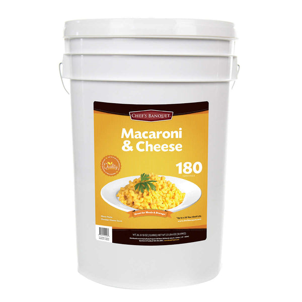Chef's Banquet Macaroni & Cheese (180 Servings)