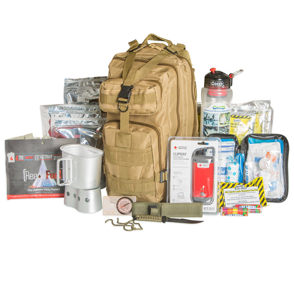 Ready Project Tactical 72 Hour Survival Kit Tan