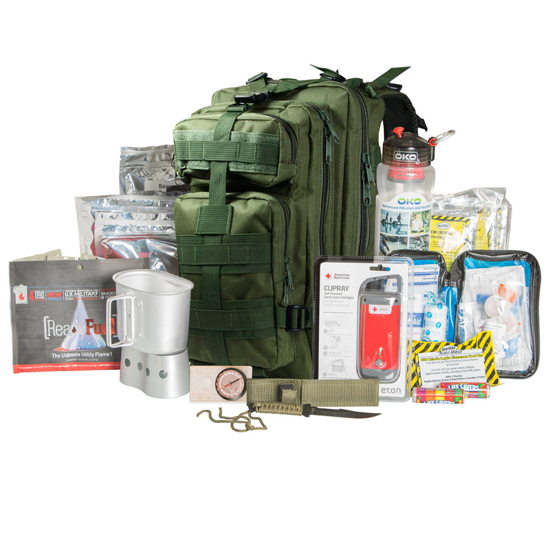 Tactical Backpack 72 hour Kit Green