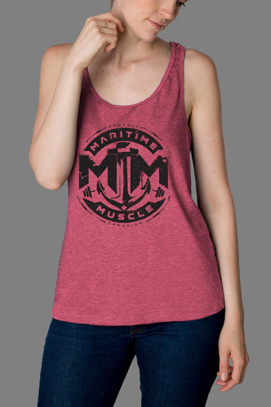 Classic Made In Canada Ladies Racerback Tank