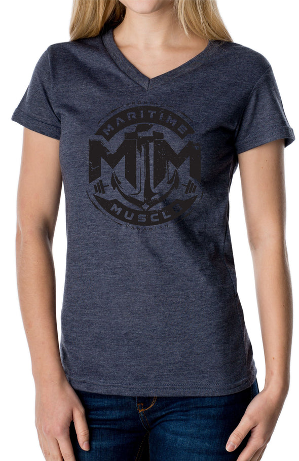 Classic Made In Canada Ladies V-Neck Tee