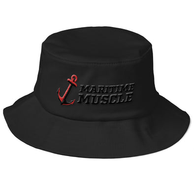Old School Bucket Hat - Anchor / Maritime Muscle