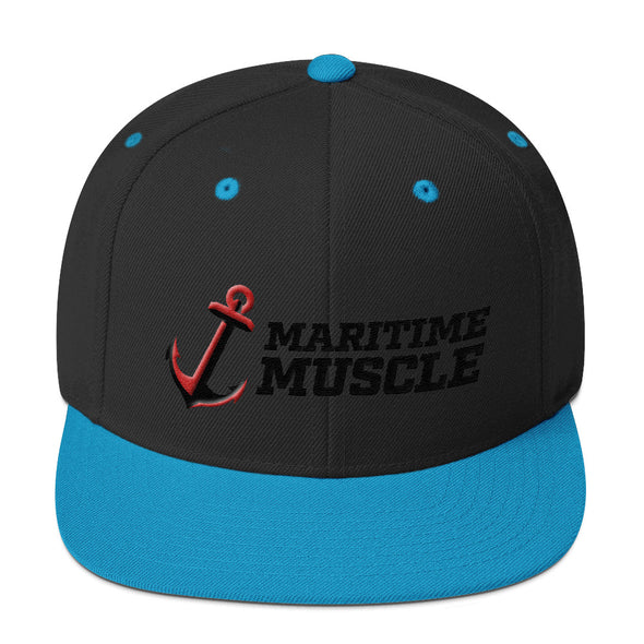Snapback Hat - Anchor / Maritime Muscle