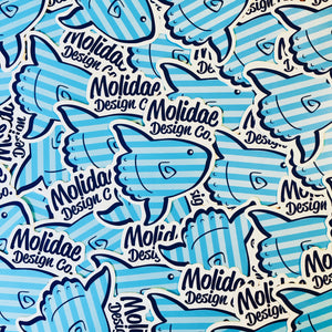 Molidae Design Sticker