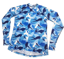 Load image into Gallery viewer, Molidae Rashguard - SCUBA Camouflage