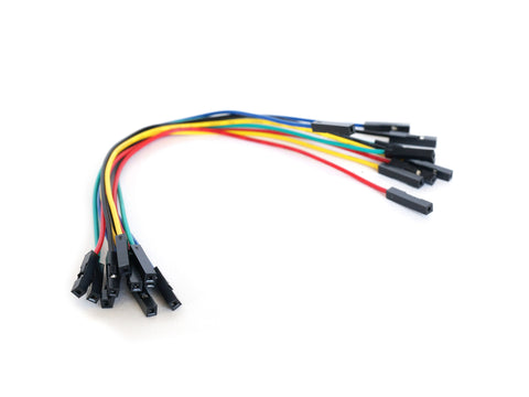 6'' Female to Female Jumper Wires