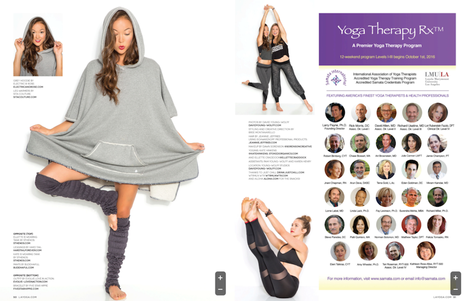 LA Yoga Magazine - Featured Outfit