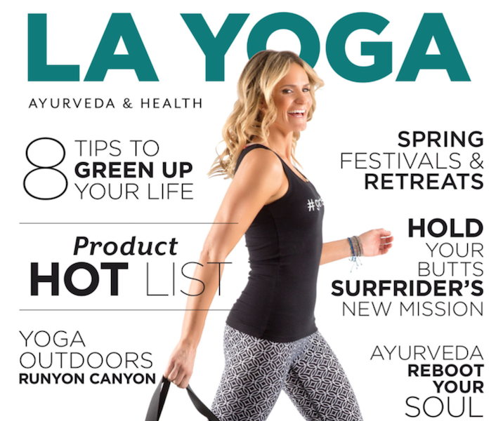 LA Yoga Magazine - Featured Story