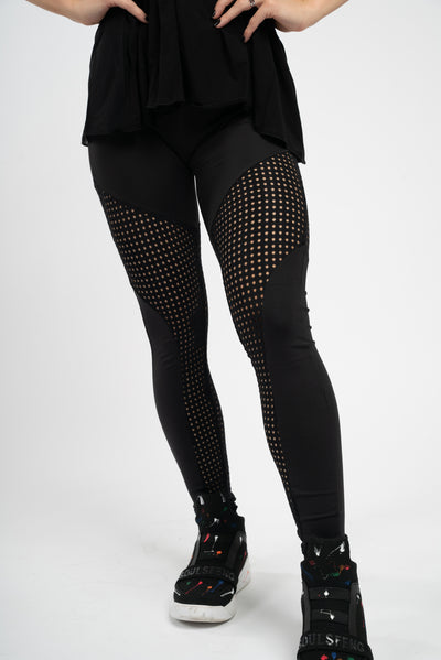 Dyer Mesh Leggings