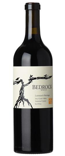 Bedrock 2017 Lorenzo's Heritage Red, Dry Creek Valley