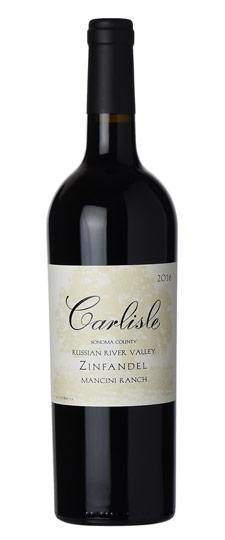 "Carlisle 2017 ""Mancini Ranch"" Zinfandel, Russian River Valley"