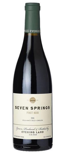 Evening Land 2016 Seven Springs Vineyard Pinot Noir, Eola-Amity Hills