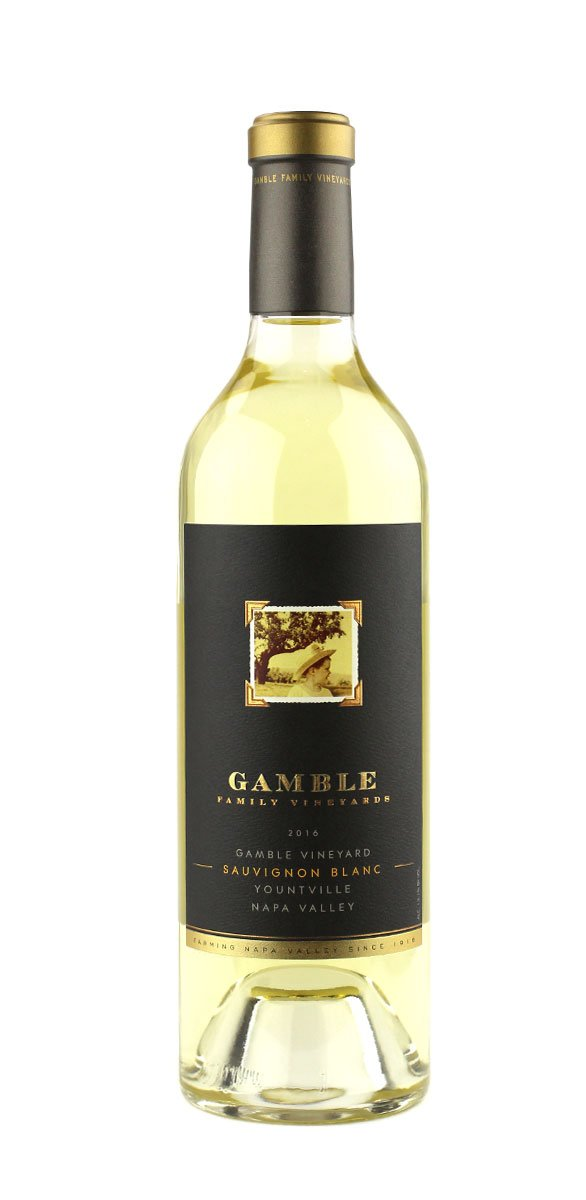 Gamble Family 2016 Sauvignon Blanc Yountville, Napa Valley