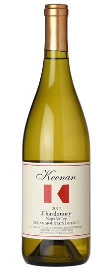 Keenan 2017 Chardonnay Spring Mountain District Napa Valley