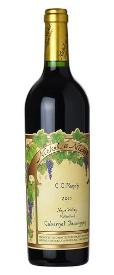 Nickel & Nickel 2017 C.C. Ranch Cabernet Sauvignon, Rutherford