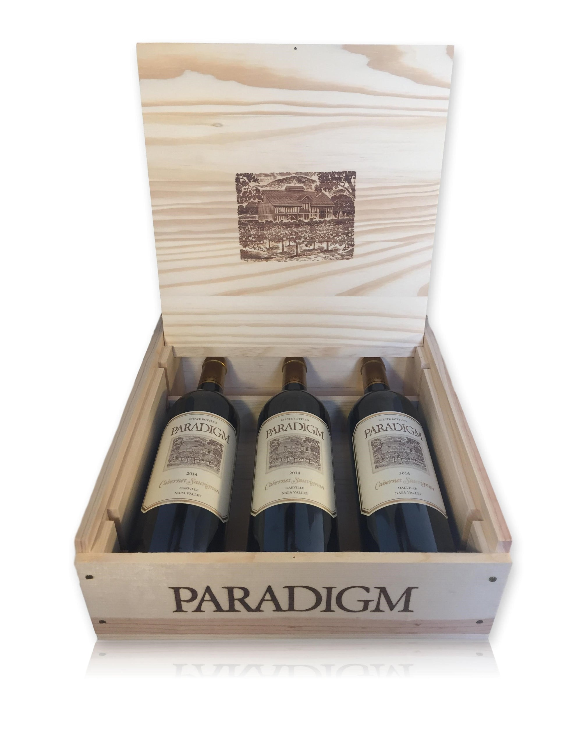 Paradigm Cabernet 3-Bottle Gift Box