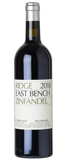 Ridge 2018 East Bench Zinfandel, Dry Creek Valley