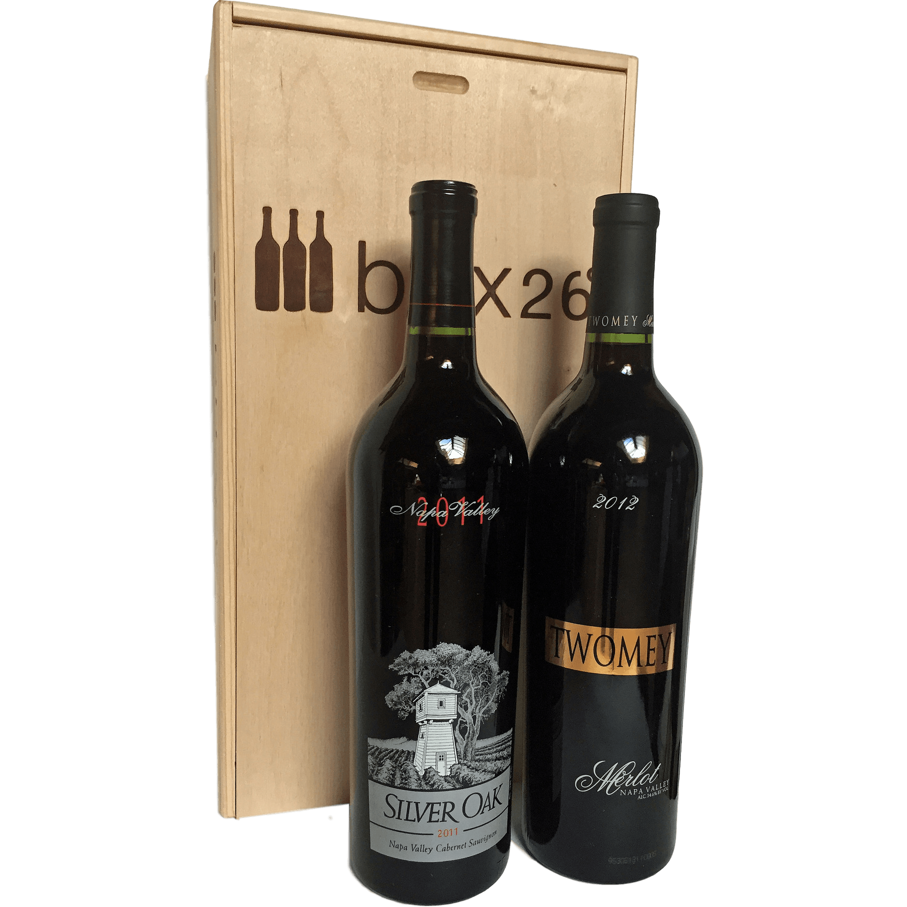 Silver Oak Napa 2-Bottle Gift Pack - Brix26