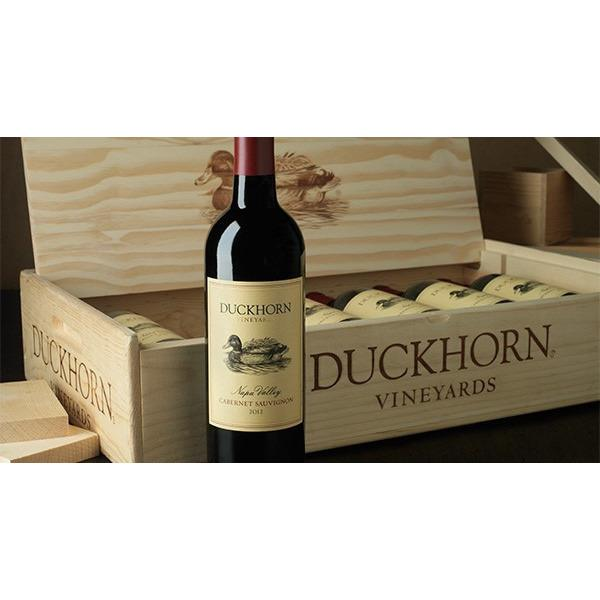 Duckhorn 2016 Cabernet Sauvignon 6-Bottle Wood Gift Box