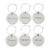 International Cheers Wine Charms - Set of 6