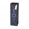 Joy Single-Bottle Wine Bag by Cakewalk