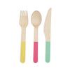 Assorted Color Flatware by Cakewalk
