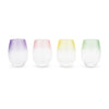 Frosted: Ombre Stemless Wine Glasses by Blush®