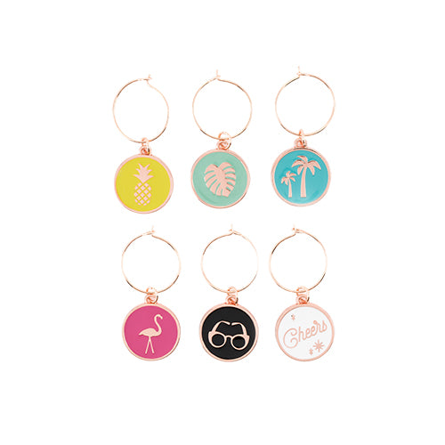 Palm Springs Wine Charms by Blush®