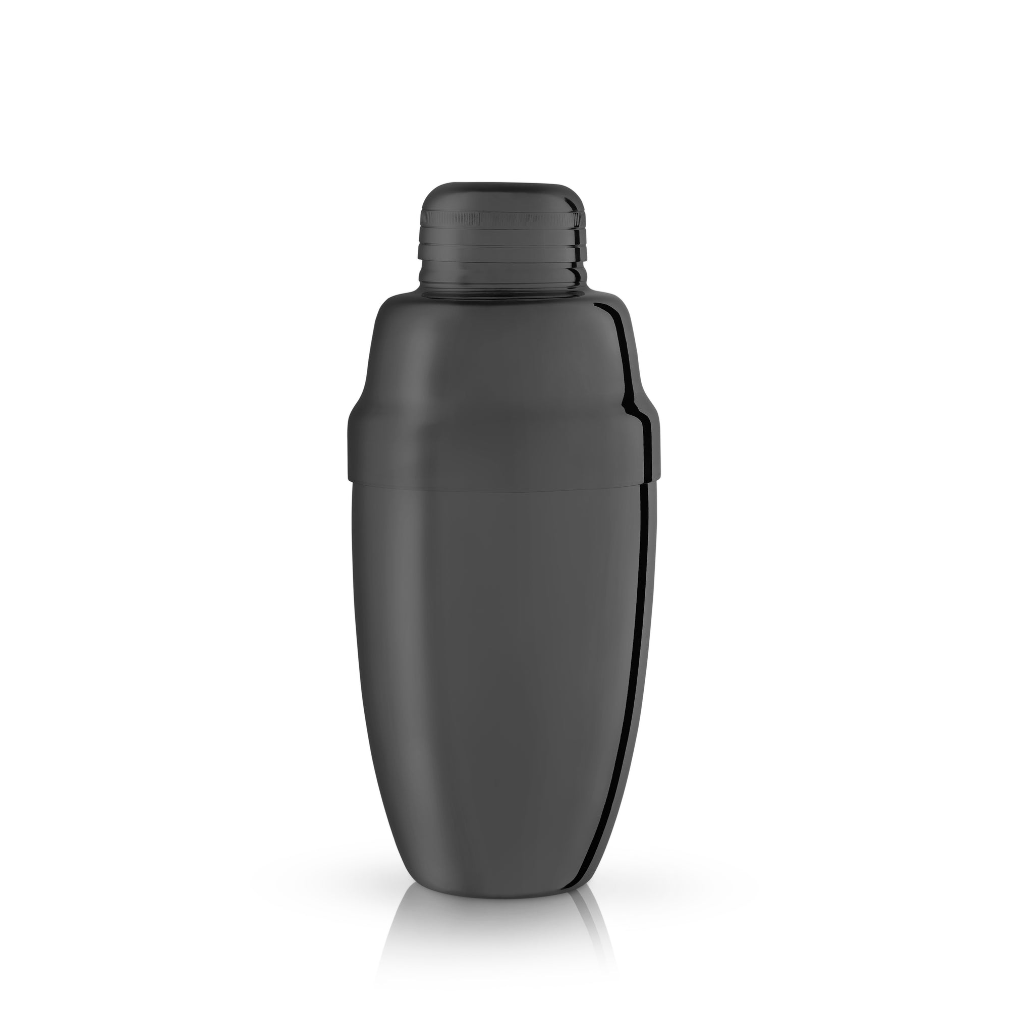 Warren: Gunmetal Black Heavyweight Cocktail Shaker (VISKI)
