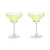 Raye: Crystal Margarita Glasses (VISKI)