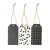 Assorted Noir Pattern Paper Tags