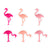Flamingo Drink Charms by TrueZoo