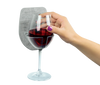 Sipski™ Shower Wine Holder - Marble