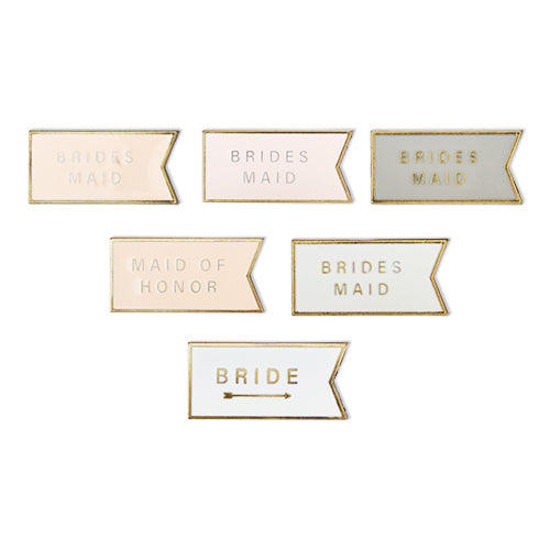 Bridal Party Wine Charm Set by Twine®