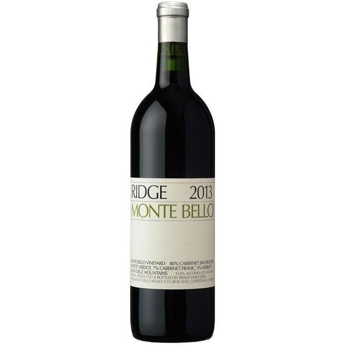 Ridge 2016 'Monte Bello' Vineyard Cabernet Sauvignon, Santa Cruz Mts